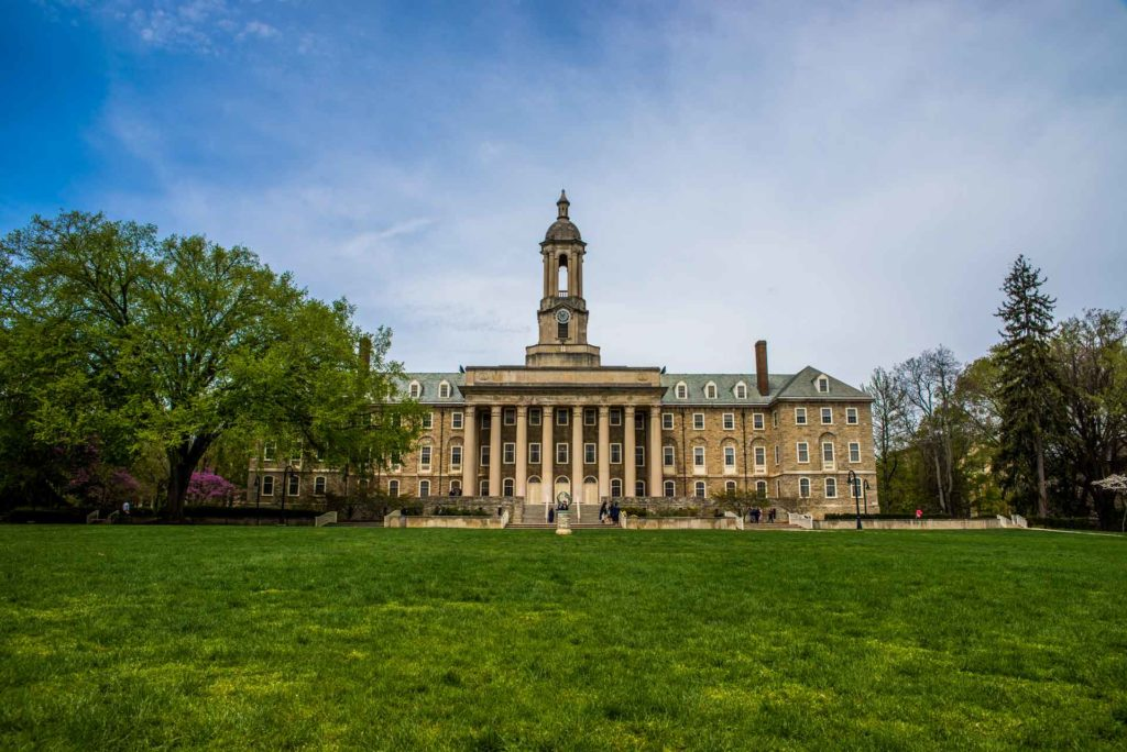 Penn State Old Main 1